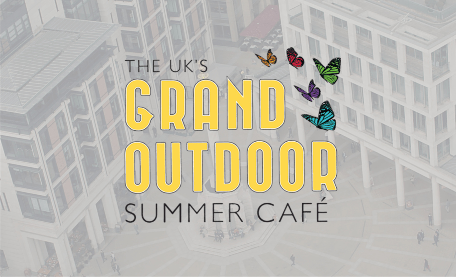 What is the UK Grand Summer Outdoor Cafe?
